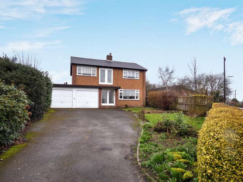 4 Bedrooms Detached House for sale in Curborough Road, Lichfield