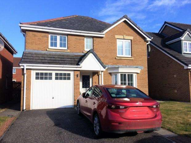 4 Bedrooms Detached House for sale in Petrel Way, Dunfermline, KY11