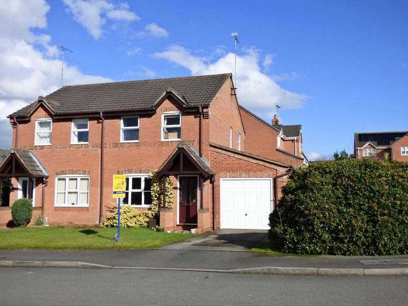 3 Bedrooms Semi Detached House for sale in Elder Close, Uttoxeter