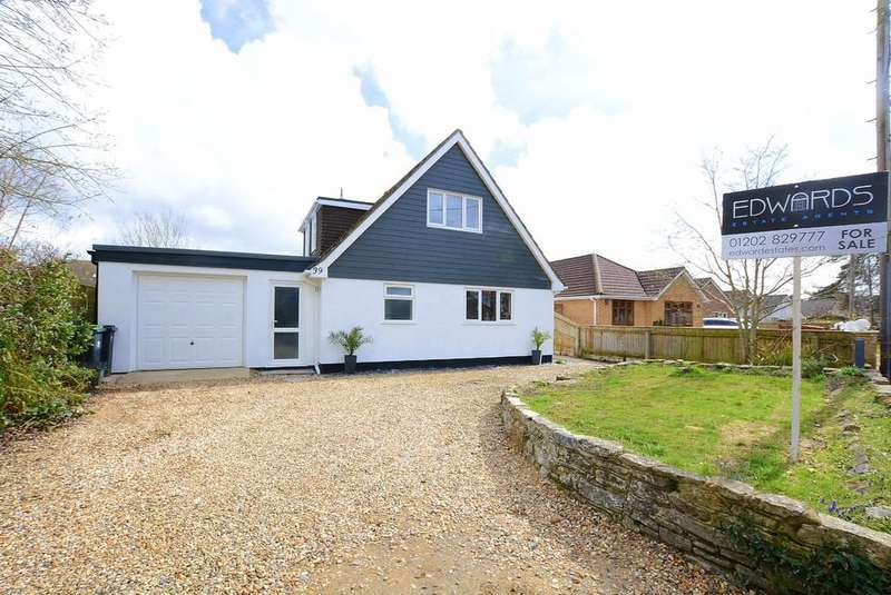 4 Bedrooms Detached House for sale in Moneyfly Road, VERWOOD