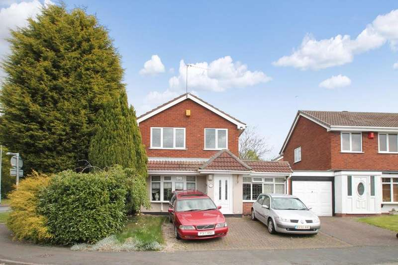 3 Bedrooms Link Detached House for sale in Badgers Way, Heath Hayes, Cannock