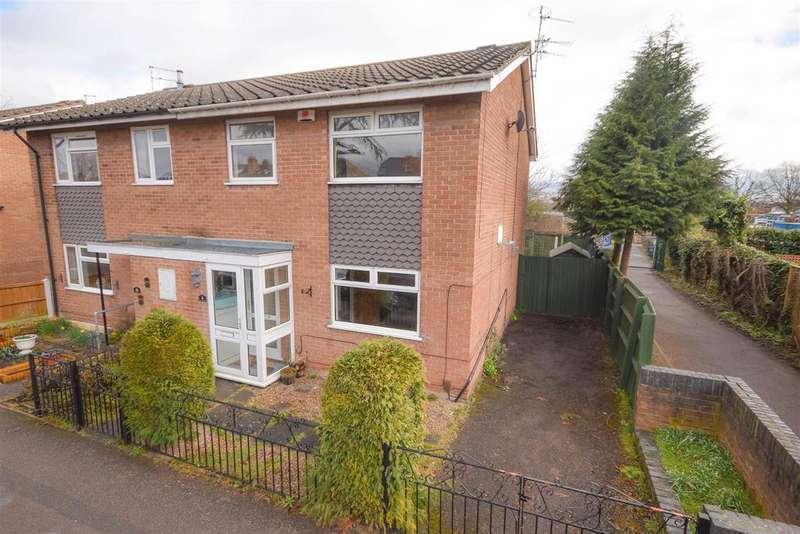 3 Bedrooms Semi Detached House for sale in Tewkesbury Close, West Bridgford, Nottingham