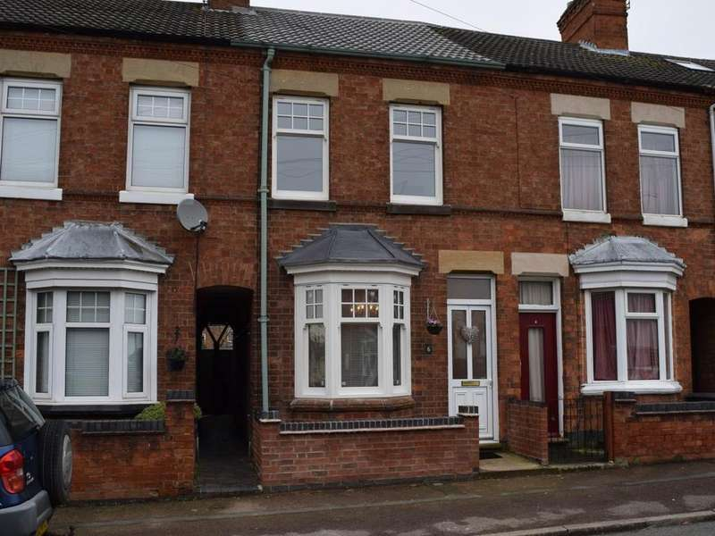 2 Bedrooms Terraced House for rent in Harcourt Road, Wigston, Leicestershire