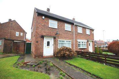 2 Bedrooms Semi Detached House for sale in Dukes Avenue, Hebburn, Tyne and Wear, NE31