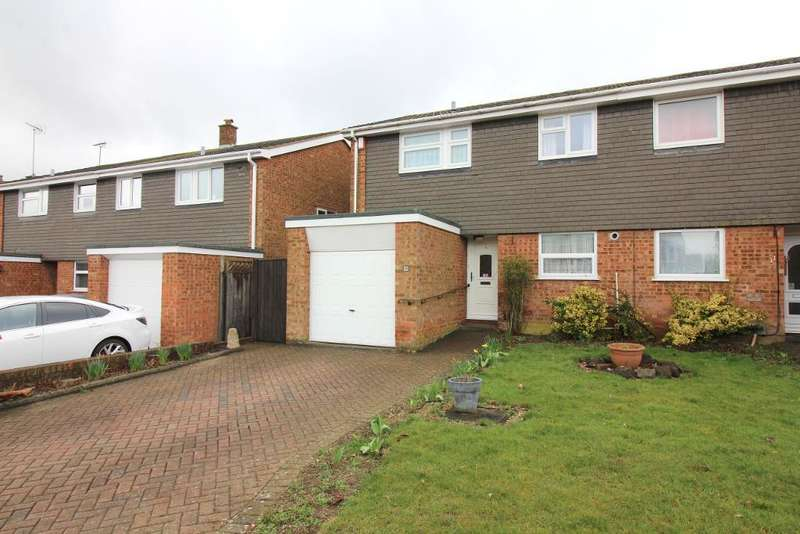 3 Bedrooms Semi Detached House for sale in Benson Close, Luton, Bedfordshire, LU3 3QW
