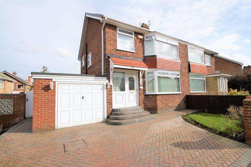 3 Bedrooms Semi Detached House for sale in Rimswell Road, Fairfield, Stockton-On-Tees, TS19 7LN