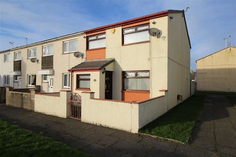 3 Bedrooms End Of Terrace House for sale in Devonshire Road, MILLOM
