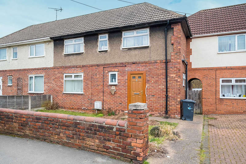 4 Bedrooms Semi Detached House for sale in Eastern Avenue, Dinnington, Sheffield, S25