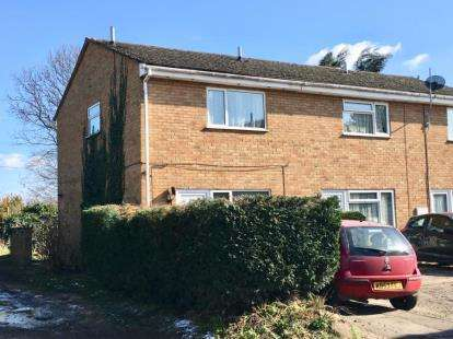 2 Bedrooms End Of Terrace House for sale in Dunstable Close, Flitwick, Bedford, Bedfordshire