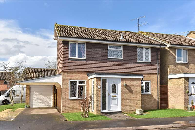 3 Bedrooms Detached House for sale in Kilmuir Close, College Town, Sandhurst, Berkshire, GU47