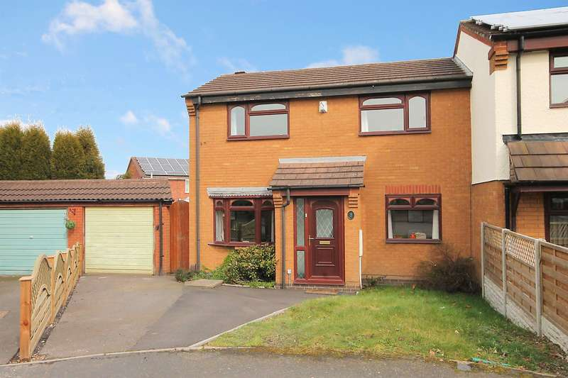 3 Bedrooms Semi Detached House for sale in Nimbus, Dosthill, Tamworth, B77 1PW