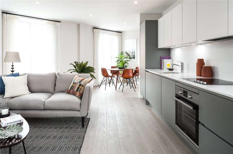 2 Bedrooms Flat for sale in Stamford Road, Dalston, London, N1