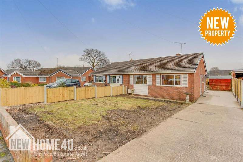 2 Bedrooms Semi Detached Bungalow for sale in Maxwell Drive, Leeswood, Mold