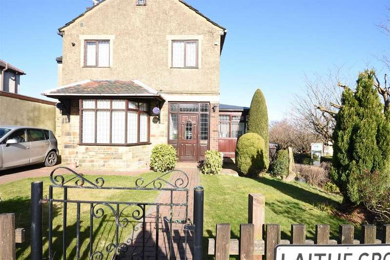 3 Bedrooms Detached House for sale in Laithe Grove, Wibsey, Bradford