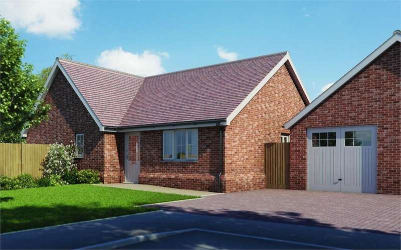 3 Bedrooms Detached Bungalow for sale in Plot 6 'Old Stables', Walton Road, Kirby-le-Soken, Frinton-on-Sea, Essex