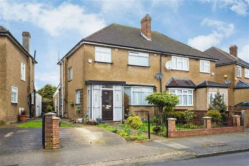 3 Bedrooms Semi Detached House for sale in Boleyn Drive, Eastcote, Middlesex
