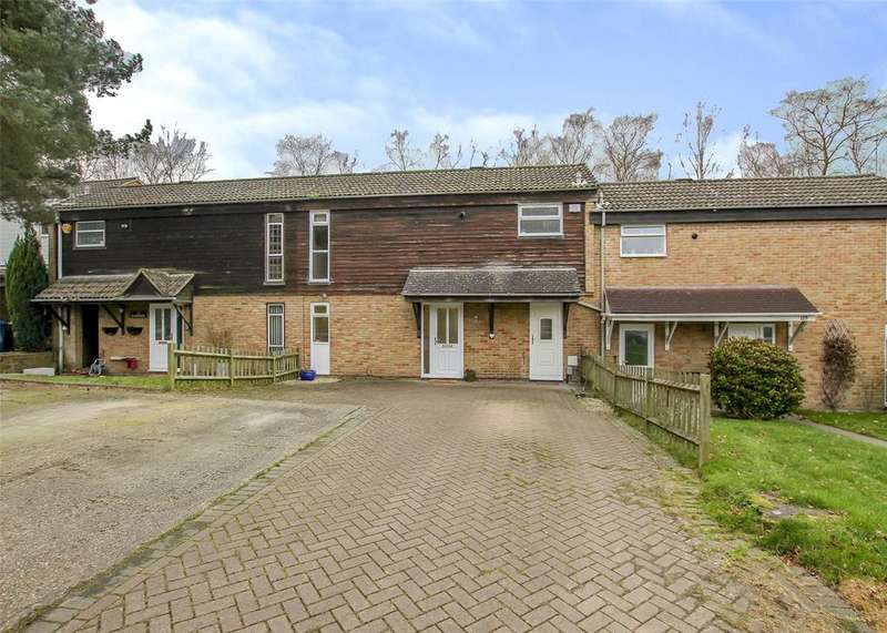3 Bedrooms Terraced House for sale in Jameston, Bracknell, RG12