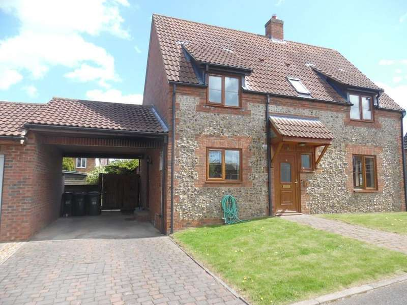 3 Bedrooms Detached House for rent in The Old Bakery Close, Methwold, Thetford