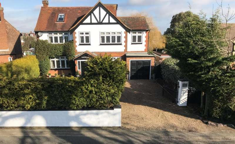 4 Bedrooms Detached House for sale in Brentwood Road, Ongar, CM5