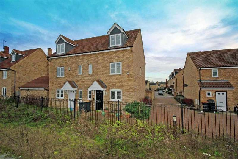 4 Bedrooms Town House for sale in Silverburn Close, Bedford