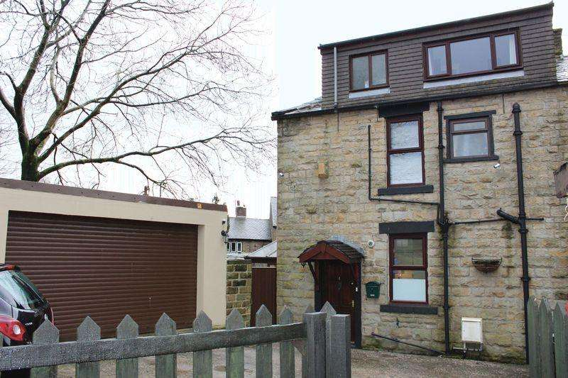 3 Bedrooms End Of Terrace House for sale in North Parade, Newhey, Rochdale, OL16 3RD