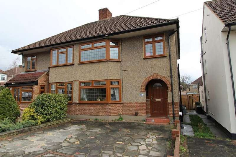 3 Bedrooms Semi Detached House for sale in Kingfisher Road, Cranham, Upminster, Essex, RM14