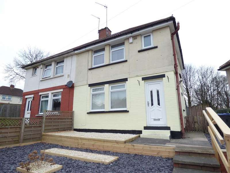 3 Bedrooms Semi Detached House for sale in Delius Avenue, Ravenscliffe, Bradford, BD10 0HY