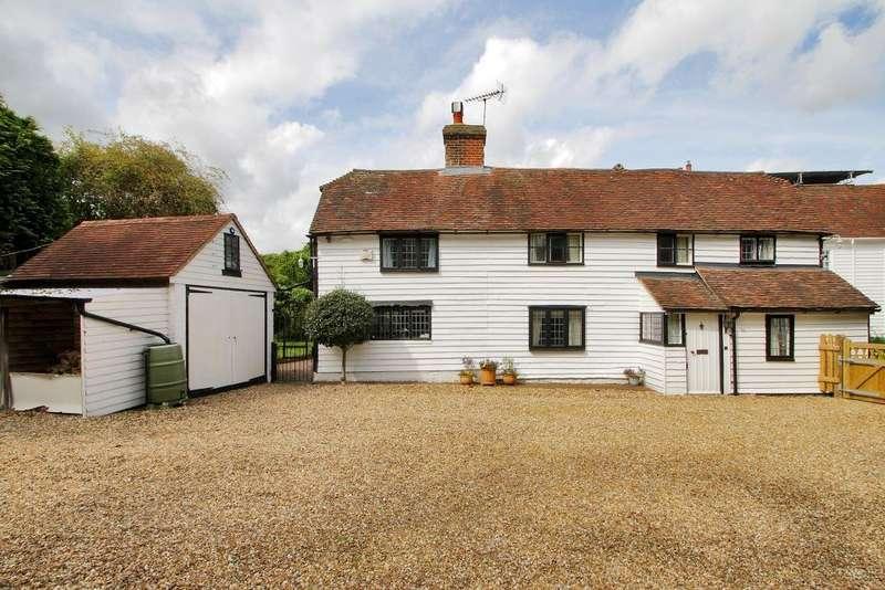 4 Bedrooms Detached House for sale in Cranbrook Road, Goudhurst, Kent, TN17 1DX