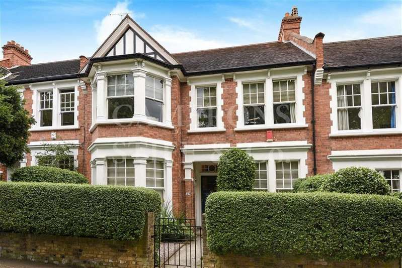 5 Bedrooms Terraced House for sale in Kingswood Avenue, Queens Park, London, NW6