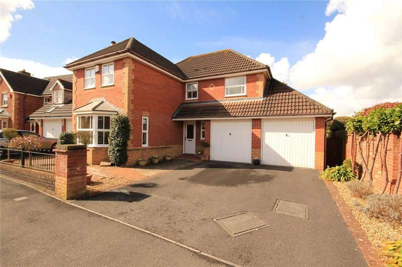 4 Bedrooms Detached House for sale in Heathfields, Downend, Bristol, BS16