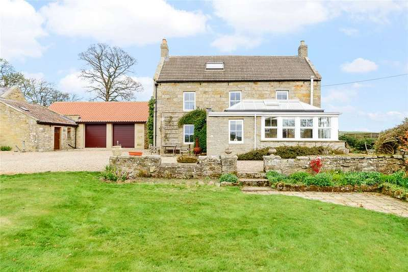 5 Bedrooms Detached House for sale in Longwitton, Morpeth, Northumberland