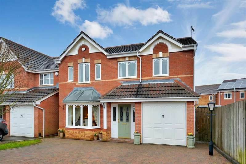 4 Bedrooms Detached House for sale in Millstone Close, Mansfield