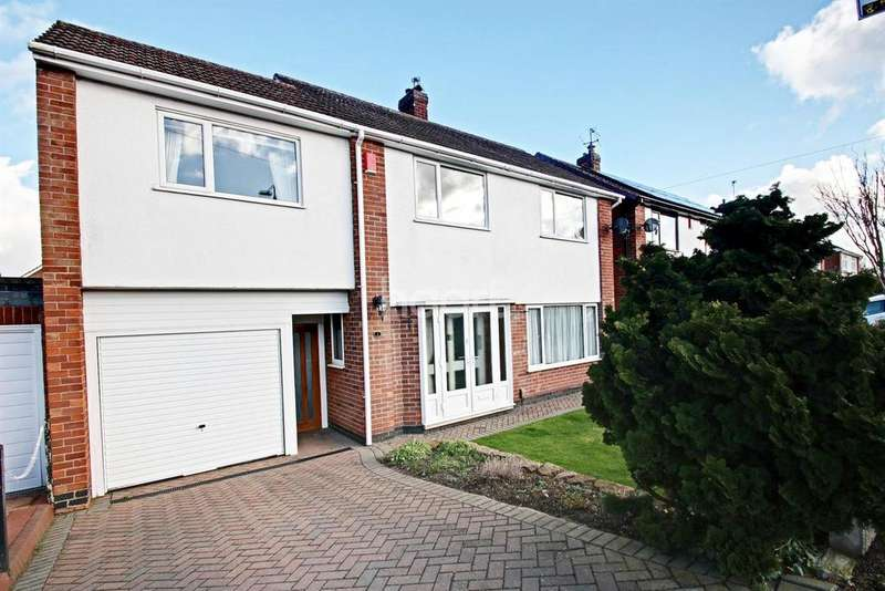 4 Bedrooms Detached House for sale in Lowlands Drive, Keyworth, Nottinghamshire