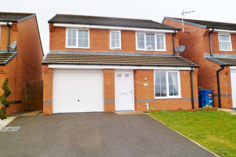 3 Bedrooms Detached House for sale in Clifton Avenue, Brymbo, Wrexham, LL11