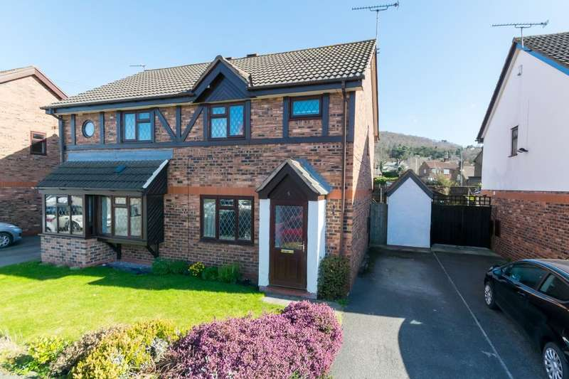 3 Bedrooms Semi Detached House for sale in Lodge Hollow, Helsby, Frodsham, WA6