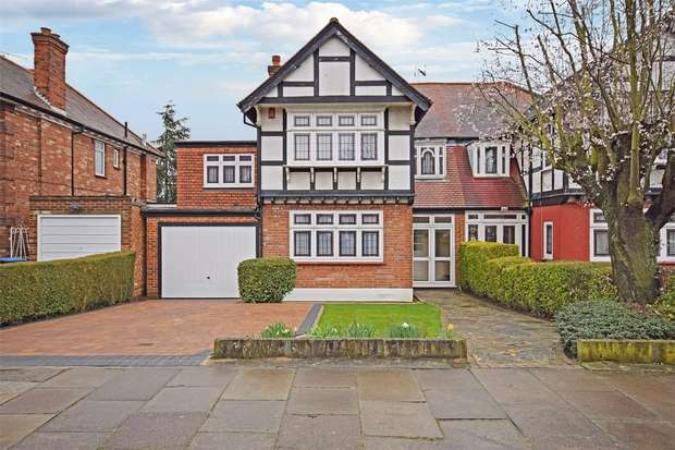 4 Bedrooms Semi Detached House for sale in The Fairway, WEMBLEY, Middlesex