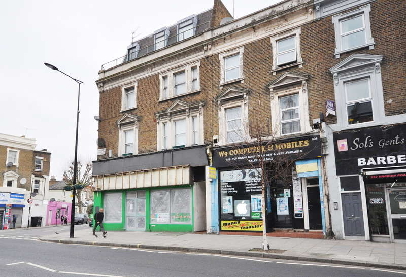 Commercial Property for sale in Harrow Road, London, W9