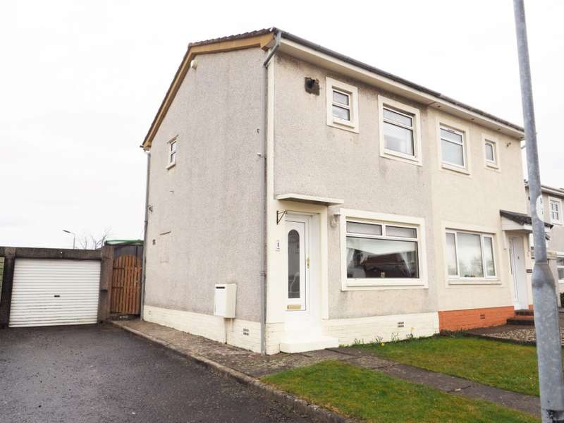 2 Bedrooms Semi Detached House for sale in 1 Loudon Crescent, Kilwinning, KA13 6TS