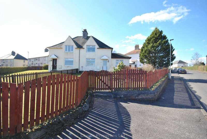 3 Bedrooms Semi Detached House for sale in Blair Crescent, Hurlford, KA1 5BL
