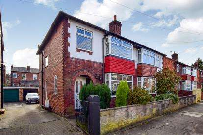 3 Bedrooms Semi Detached House for sale in Maxwell Avenue, Great Moor, Stockport, Cheshire