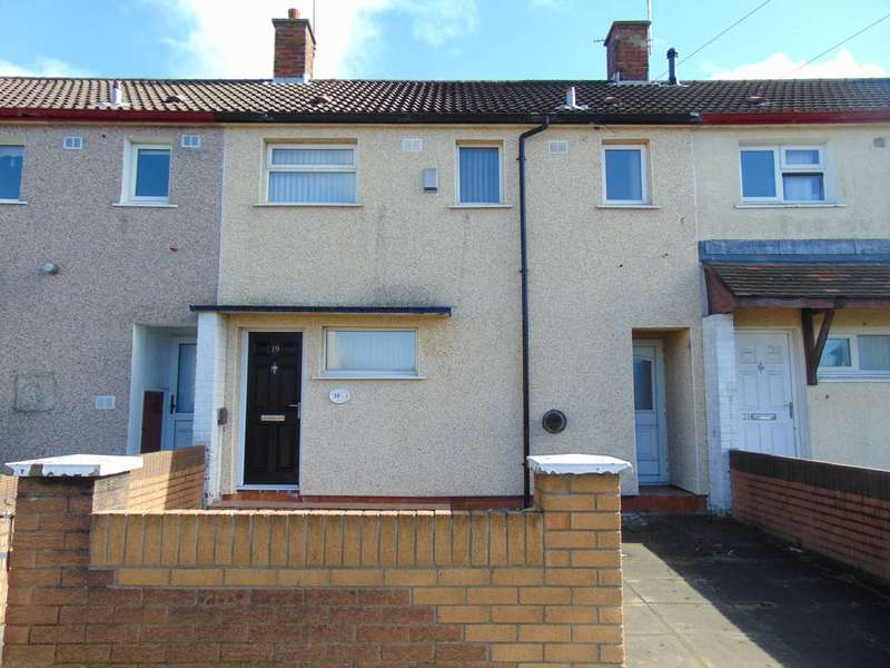 3 Bedrooms Terraced House for rent in Findon Road, Southdene, Kirkby