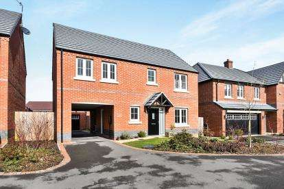 4 Bedrooms Detached House for sale in Ash Tree Road, Ashby-De-La-Zouch, .