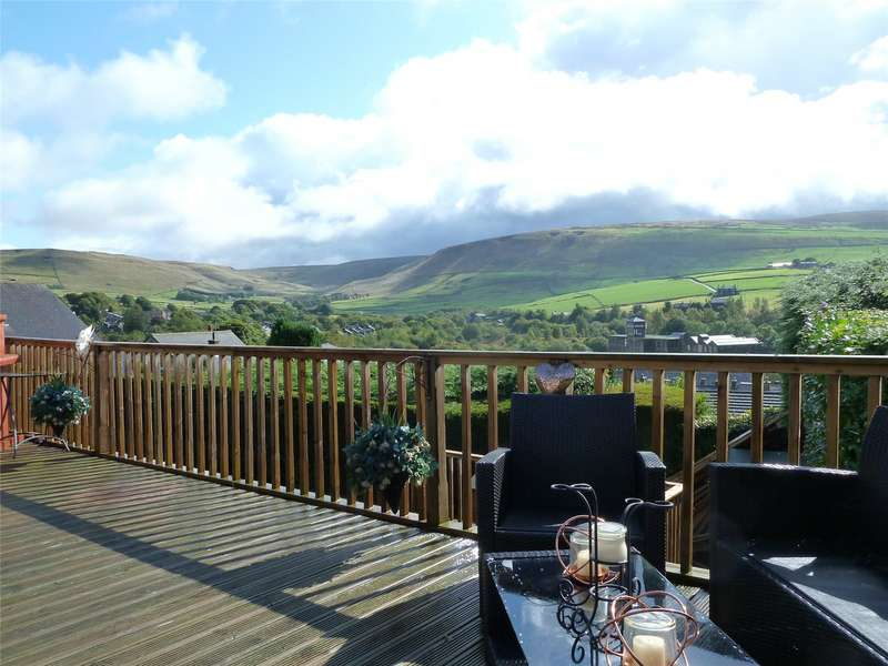 4 Bedrooms Detached House for sale in Sunfield Lane, Diggle, Saddleworth, OL3