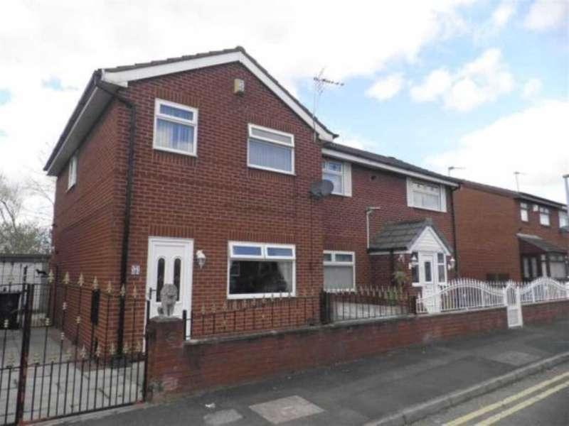 3 Bedrooms Semi Detached House for sale in Nicholson Street, Warrington