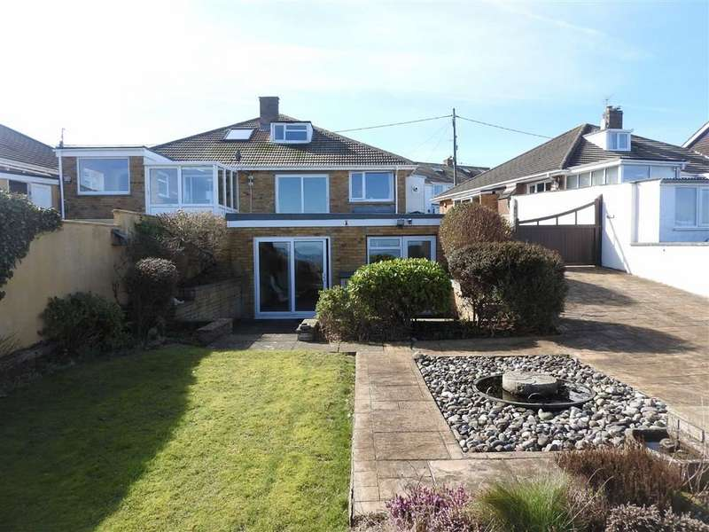 3 Bedrooms Semi Detached Bungalow for sale in Heol Y Graig, Aberporth, Cardigan