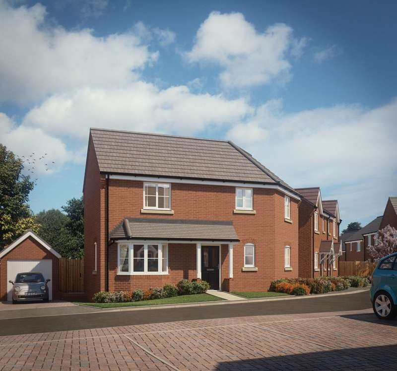 3 Bedrooms Semi Detached House for sale in Plot 25 The Boston, Hartwell Grange
