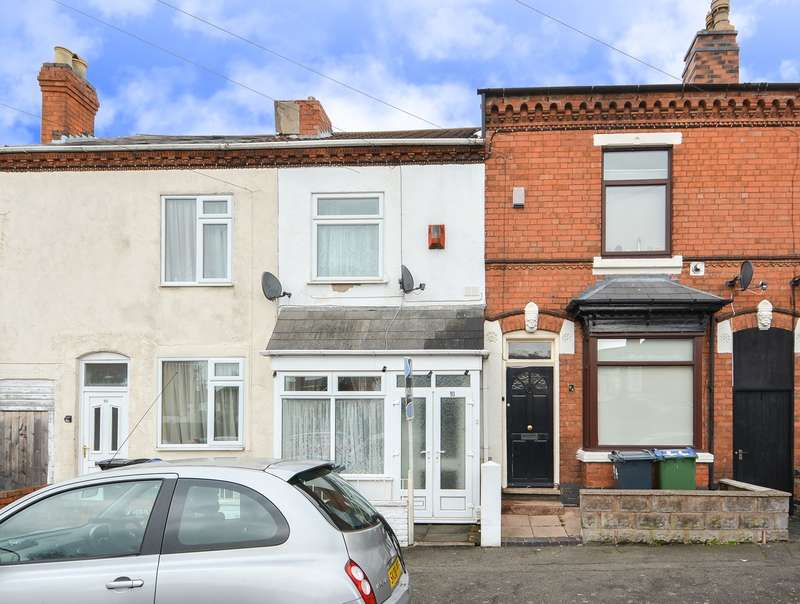 2 Bedrooms Terraced House for sale in Gladys Road, Bearwood, B67