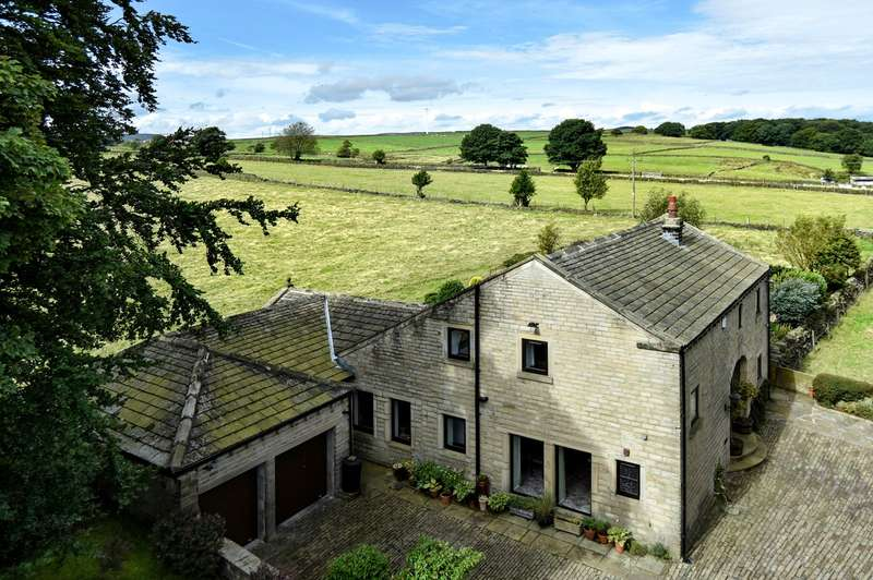 4 Bedrooms Detached House for sale in Totties, Holmfirth, HD9