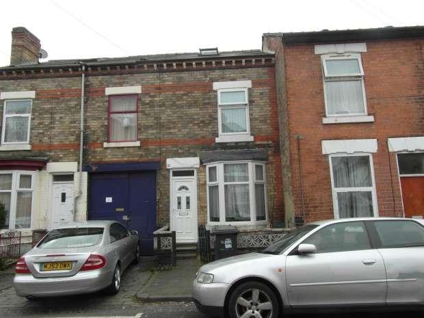 3 Bedrooms Terraced House for sale in Harriet Street, Derby, DE23