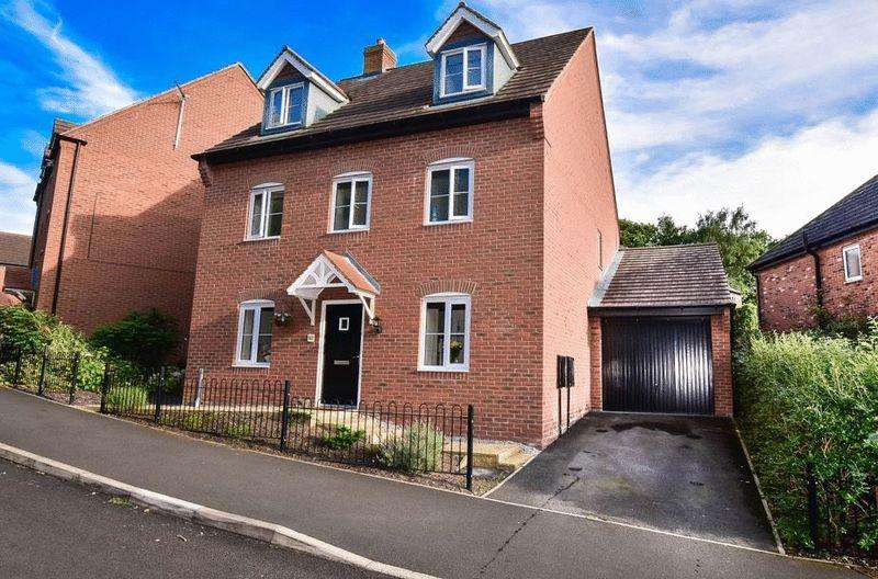5 Bedrooms Detached House for sale in Bath Vale, 30' Tandem Garage